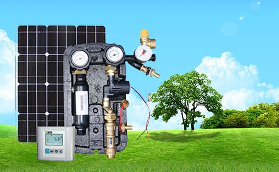 system zasilająco-sterujacy do kolektorów słonecznych FOTTON POWER 2 DC