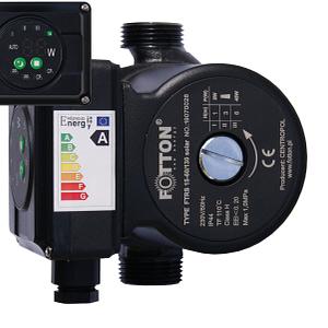 Elektroniczna pompa obiegowa FOTTON FTRS